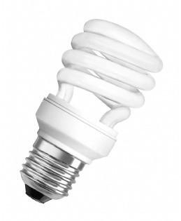 Úsporné žárovky Úsporná zářivka Osram MTW, E27, 15W, teplá bílá