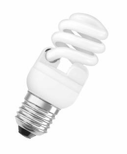 Úsporné žárovky Úsporná zářivka Osram MTW, E27, 20W, teplá bílá