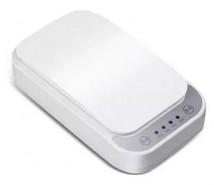 UV sterilizátor Patona pro mobily, roušky, 8-10min s QI, bílá ROZ