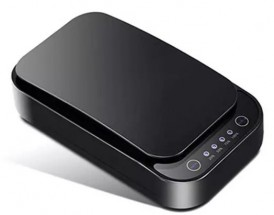 UV sterilizátor Patona pro mobily, roušky, 8-10min s QI, černá
