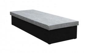 Válenda Iva 80x200, černá/šedá, včetně úp