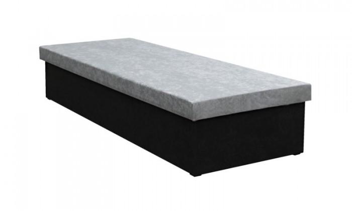 Válenda Válenda Iva 80x200, černá/šedá, včetně úp