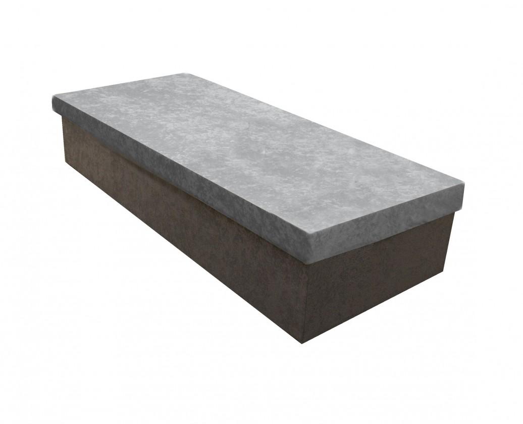 Válenda Válenda Iva 80x200, šedá, včetně úp