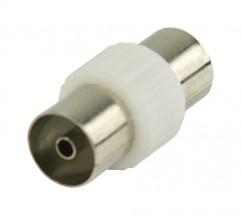 Valueline Koaxiální spojka,koaxiální zásuvka,bílá (VLSP40941W)