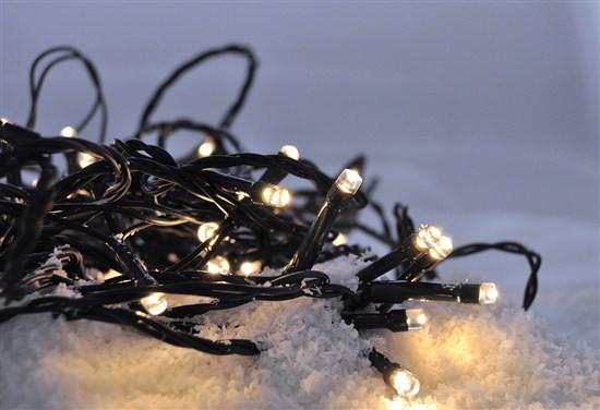 Vánoční dekorace Vánoční osvětlení Solight 1V53WW, LED, teplá bílá, 5m