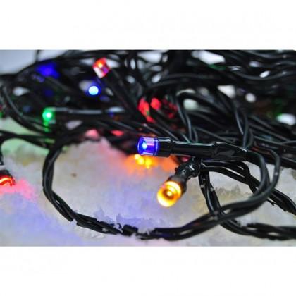 Vánoční dekorace Venkovní vánoční řetěz Solight 1V110M,LED,5m,přívod 3m,8fcí