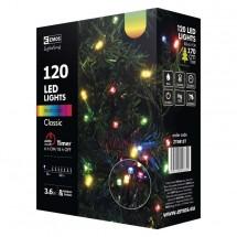 Vánoční osvětlení Emos ZY0813T, barevná, 12 m