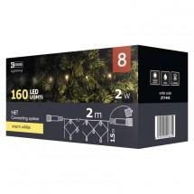 Vánoční osvětlení Emos ZY1443, síť, teplá bílá, 2 m