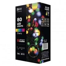 Vánoční osvětlení Emos ZY1453, kuličky, barevné, 8 m