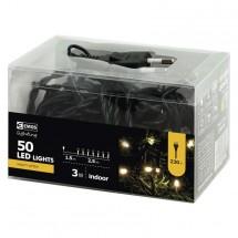Vánoční osvětlení Emos ZYK0102, teplá bílá, 2,5 m