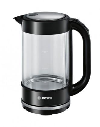 Varná konvice Rychlovarná konvice Bosch TWK70B03, sklo, 1,7l