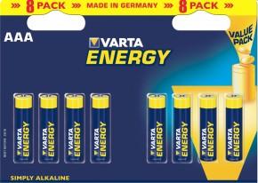 Varta Energy 8 AAA (Double Blister)
