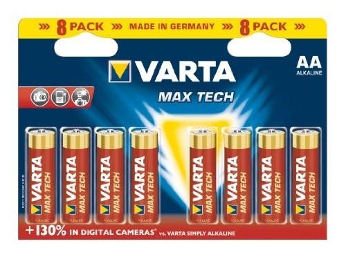 Varta Maxtech 8xAA