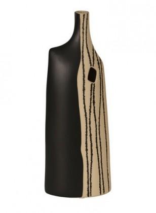 Váza keramická - 61 cm (keramika, černopísková)