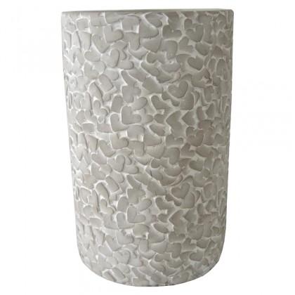 Vázy Cementová váza CV02 (21,5 cm)