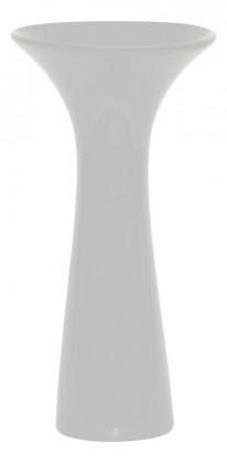 Vázy Keramická váza VK01 (bílá, 30 cm)