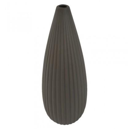 Vázy Keramická váza VK32 hnědá matná (36 cm)
