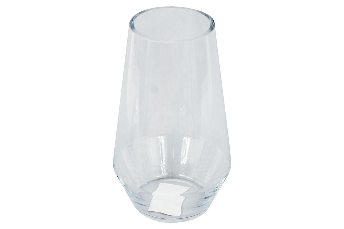 Vázy Skleněná váza VS02 (čirá, 25 cm)