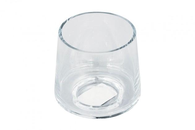 Vázy Skleněná váza VS08 (čirá, 9 cm)