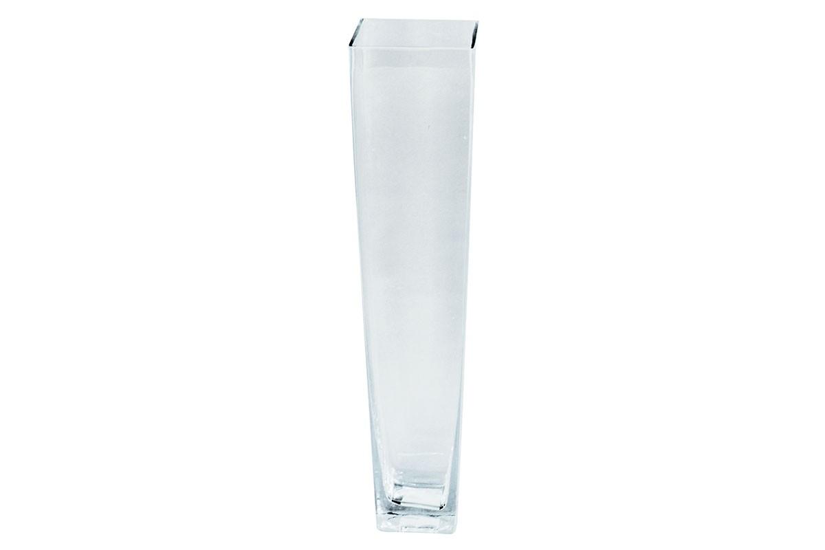 Vázy Skleněná váza VS11 (čirá, 28 cm)