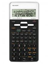 Vědecká kalkulačka Sharp EL531THBWH, 273 funkcí, 2 řádky, kryt OB