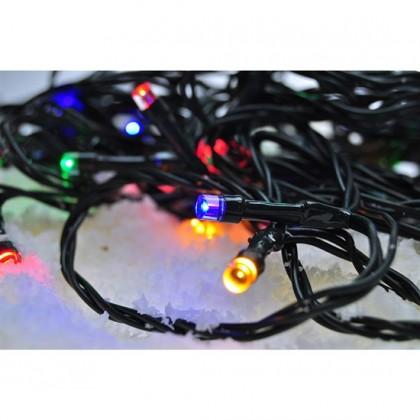 Venkovní vánoční řetěz Solight 1V101M,LED,10m,přívod 3m,8fcí
