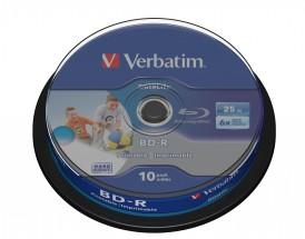 Verbatim BD-R SL, 25GB 6x, 10ks(43804)