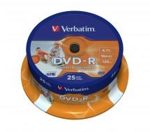 Verbatim DVD-R 4,7GB 16x, 25ks (43538)