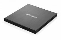VERBATIM Externí Blu-Ray Slimline mechanika USB 3.1, černá