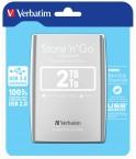 Verbatim HDD 2TB USB 3.0 stříbrný