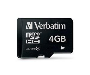 Verbatim micro SDHC 4GB (Class 4)