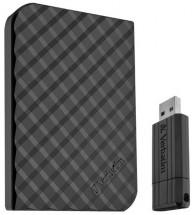 Verbatim Power Bundle Store 'n' Go 1.5TB USB 3.0 FD 16GB