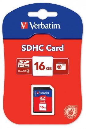 Verbatim SDHC 16 GB (Class 4)