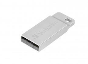 VERBATIM Store 'n' Go Metal Executive 64GB USB 2.0 stříbrná