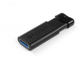 VERBATIM Store 'n' Go PinStripe 256GB USB 3.0 černá