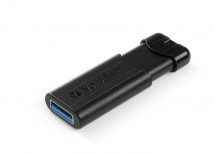 VERBATIM Store 'n' Go PinStripe 64GB USB 3.0 černá