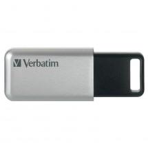 VERBATIM Store 'n' Go Secure Pro 64GB USB 3.0 stříbrná