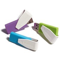 VERBATIM Store .n. Go Swivel 8GB Multi pack 98426