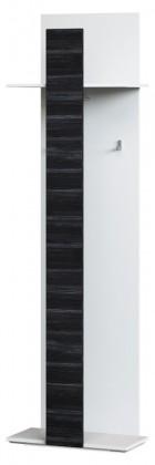 Věšák Denver Typ 13 (bílá artic/černá strukturovaná)