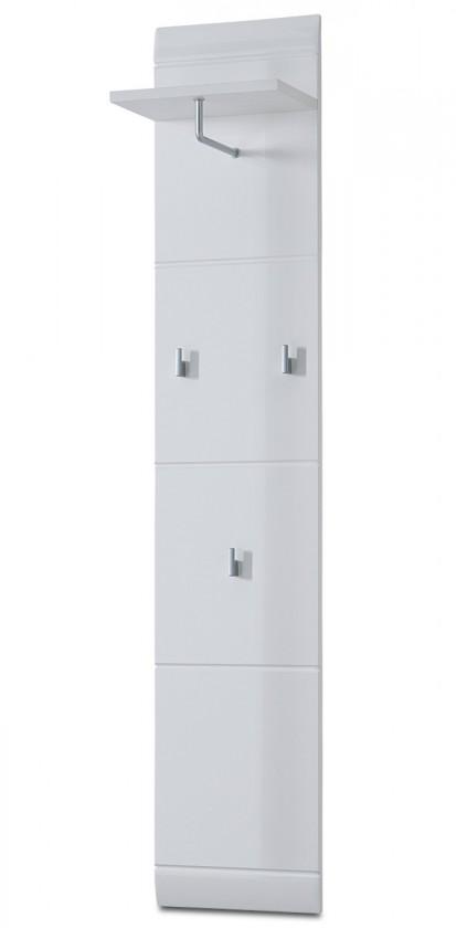 Věšáky GW-Adana - Věšákový panel (bílá) 30 cm