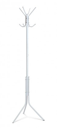 Věšáky Stojanový věšák - SV 05, 170 cm (bílá, kov)