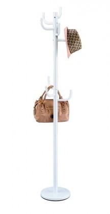 Věšáky Stojanový věšák - SV 07, 175 cm (bílá, kov)