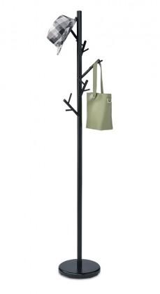Věšáky Stojanový věšák - SV 10, 170 cm (černá, kov)