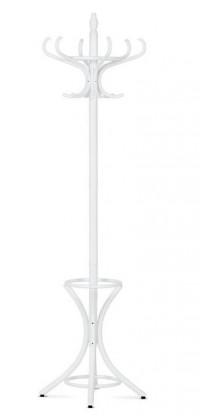 Věšáky Stojanový věšák - SV 16, 186 cm (bílá, dřevo)