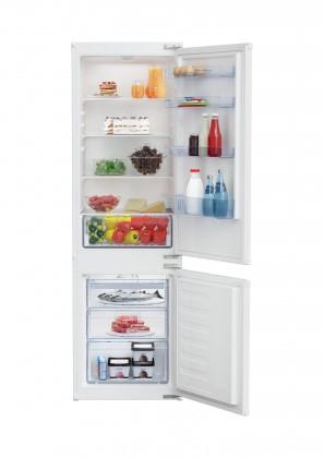 Vestavná kombinovaná lednice Beko BCHA275K4SN