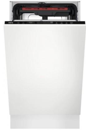 Vestavné myčky Vestavná myčka nádobí AEG FSE73517P,45cm,A+++,10 sad