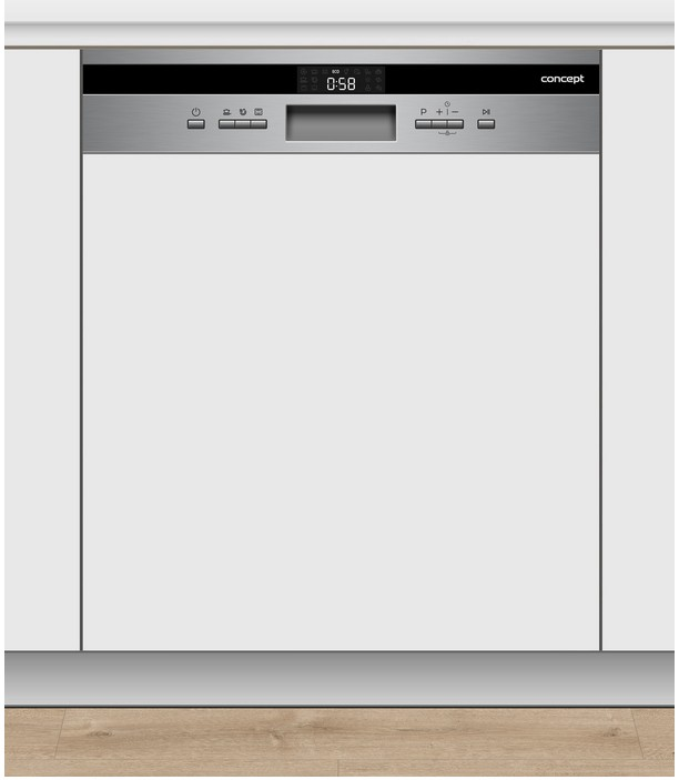 Vestavné myčky Vestavná myčka nádobí Concept MNV 5660, A+++,60cm,14sad