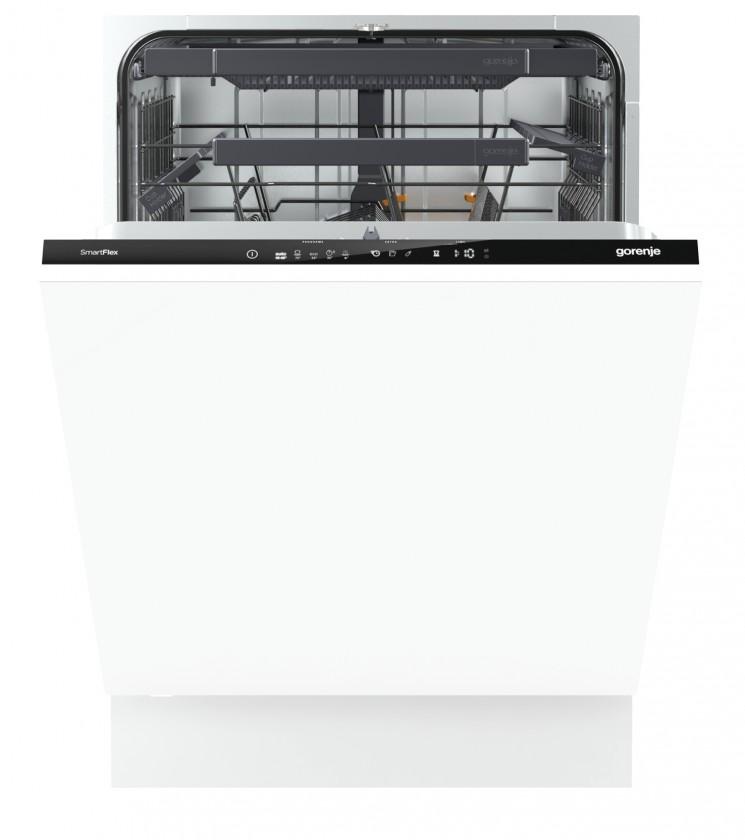 Vestavné myčky Vestavná myčka nádobí Gorenje GV66262, A+++,60cm,16sad