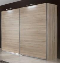Vicenza - Šatní skříň 5, 2x posuvné dveře (dub)