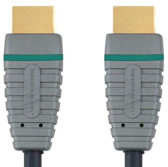 Video kabely + konektory BANDRIDGE High Speed HDMI Kabel HDMI Konektor-HDMI 5m